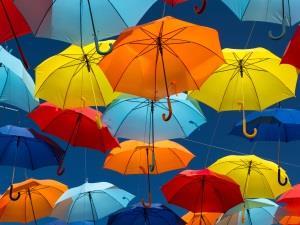 Много зонтиков - к успеху