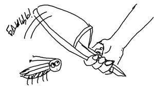 Убивать таракана