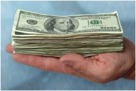 Крупная сумма денег