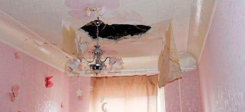 к чему снится дырка в потолке