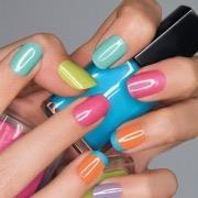 Цветные ногти