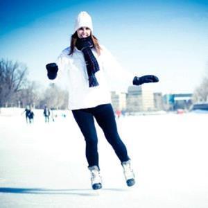 Кататься на коньках во сне