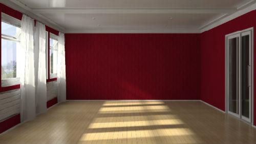 пустой дом без мебели