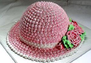 Красивый кремовый торт