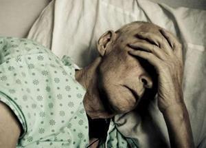 Старый больной человек