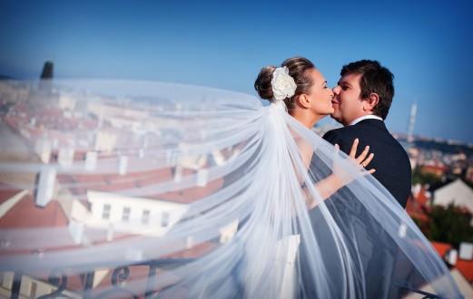 нежная свадьба