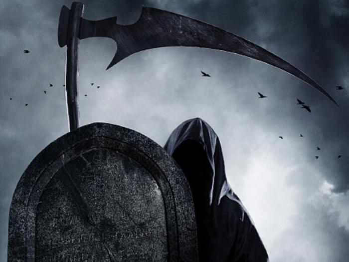 к чему снится смерть с косой в черном