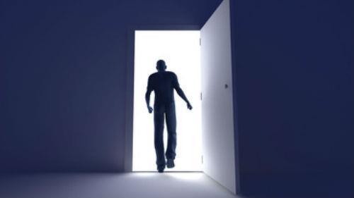 чужая дверь