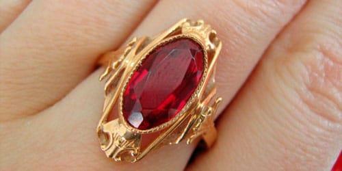 к чему снится золотое кольцо с рубином