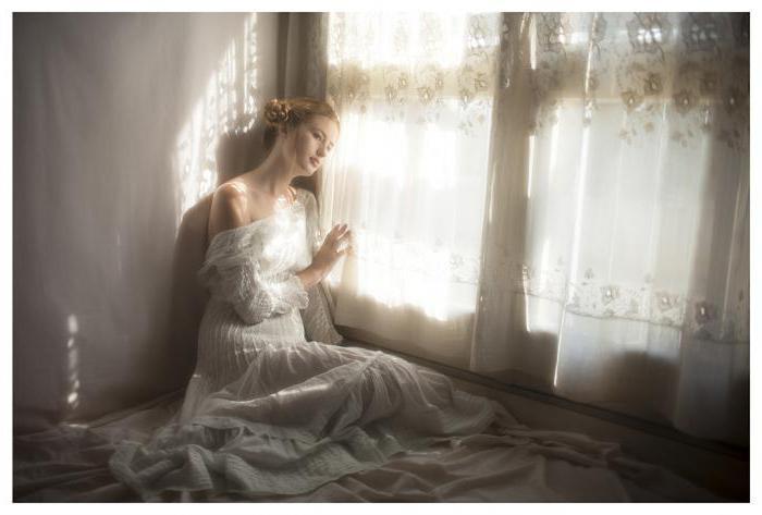 платье белое сонник