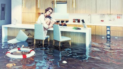 видеть потоп в квартире