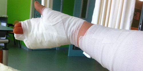 больная рука