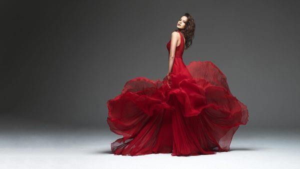 Цветовая гамма свадебного платья на удачу