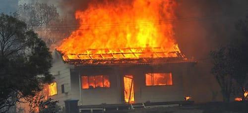 к чему снится горящая крыша