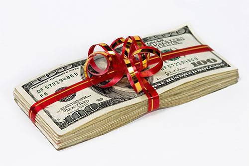 В Английском соннике вши обозначают подарок в виде денег