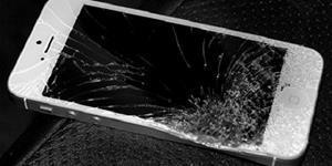 Случайно разбитый телефон