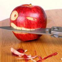 почему нельзя кушать с ножа