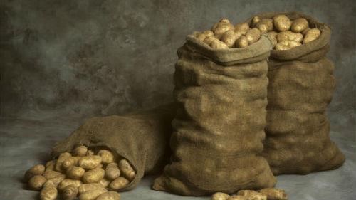 видеть мешки с картошкой