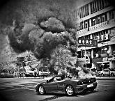 К чему снится горящая машина фото