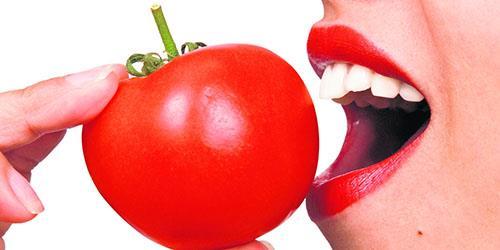 есть помидоры
