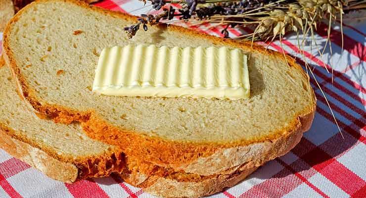 Хлеб с маслом во сне