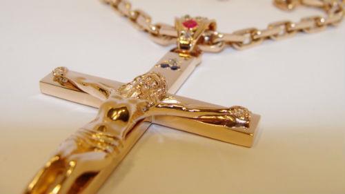 нательный крестик золотой во сне