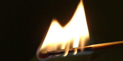 сонник горящая спичка