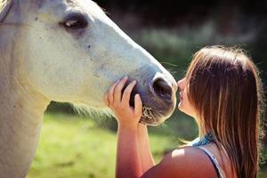 Смотреть на лошадь