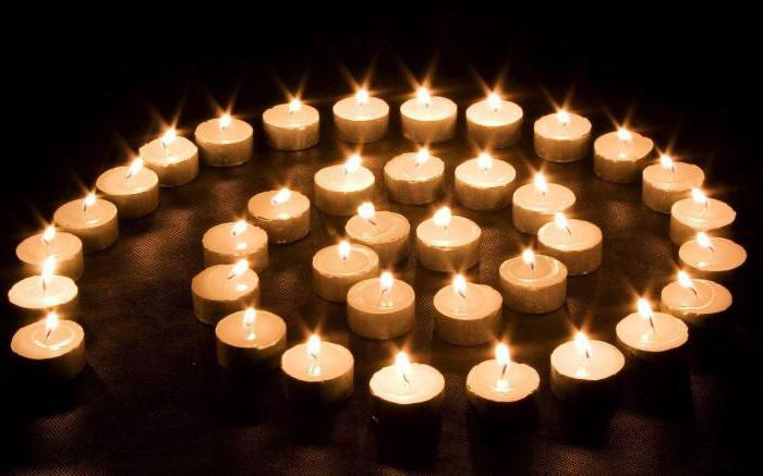 сон церковь свечи