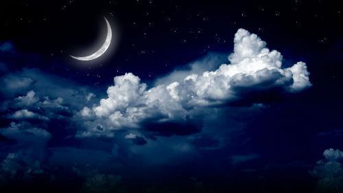 молодая луна приснилась