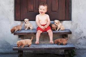 Ребёнок соседки