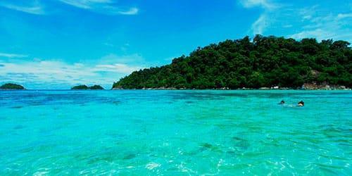 к чему снится голубое море