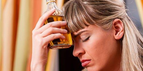 женщина алкоголичка