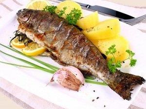 Жареная рыба во сне