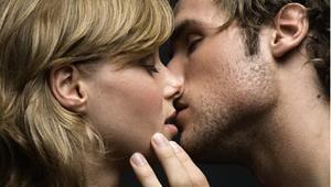 Поцелуй с мужем