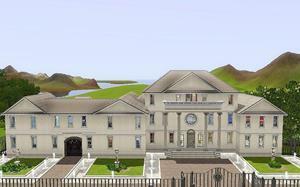 Огромный дом