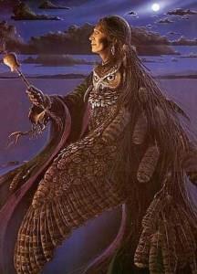 Таким образом, в символизме индейцев перо совы ассоциируется с разведчиками или шаманами, которым нужно увидеть сокрытое.