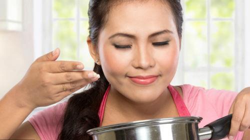 запах приготовленной еды