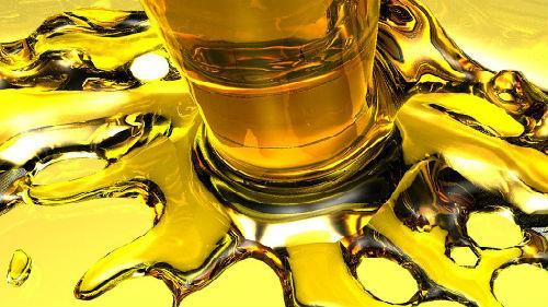 разлить масло