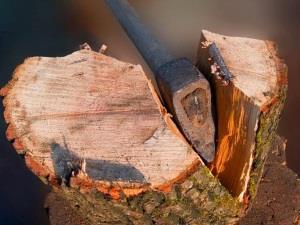 Колоть дрова - к победе над врагами