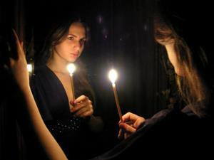 Свеча для ритуала