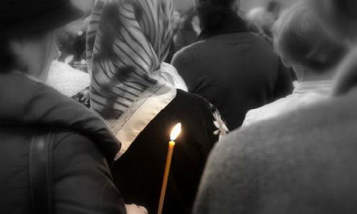 покойник в храме