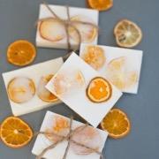Апельсиновые кусочки