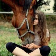 Девушка и лошадь