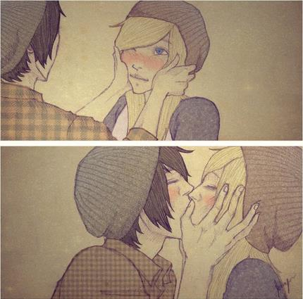 Поцелуи во сне