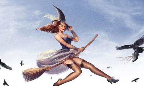 К чему снится летающая ведьма фото
