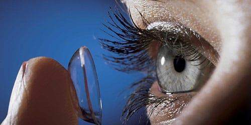 линзы для глаз во сне