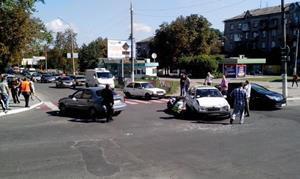 Автокатастрофа в привычном месте