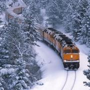 Оранжевый поезд