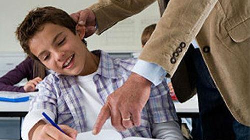 ссора с учителем